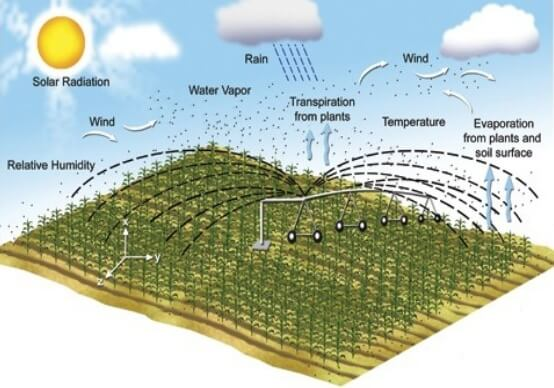 Agricultural Weather Station chart