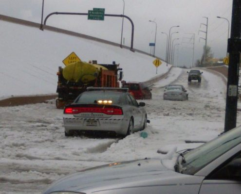 The influence of Flood on Traffic