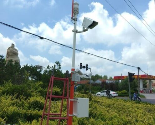 Road Weather Station Installation Site 1