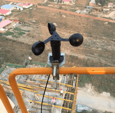 Anemometer Application of Tower Crane